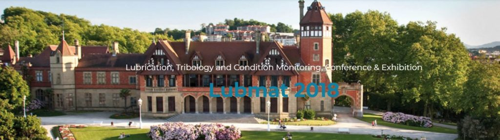 Lubmat 2018: Lubrication Tribology and Condition Monitoring Conference & Exhibition