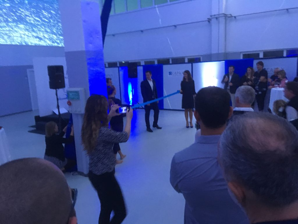 Inauguration of new Capax laboratory in Šibenik
