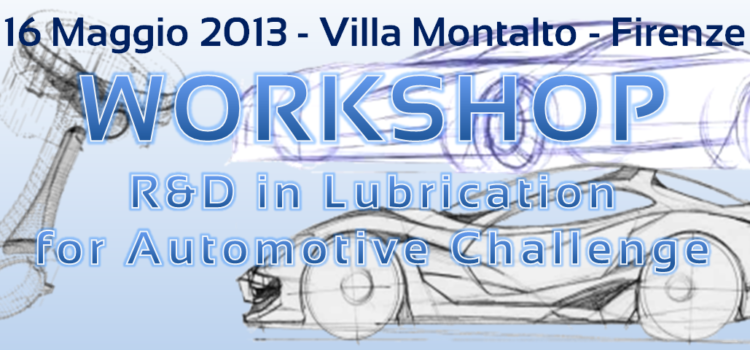 Let's talk about Automotive Lubrication, but not only, at Villa Montalto!