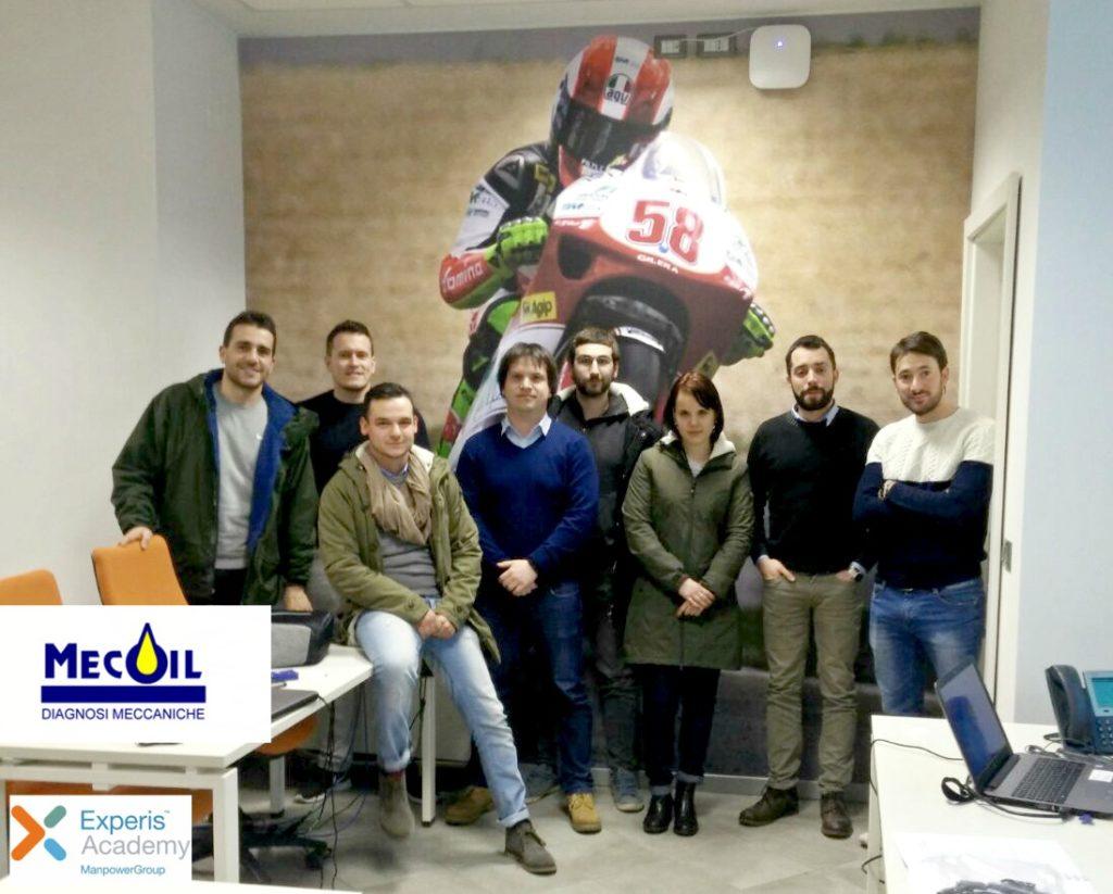 Mecoil introduce le analisi tribologiche su oli presso la Motorsport Experis Academy di Maranello